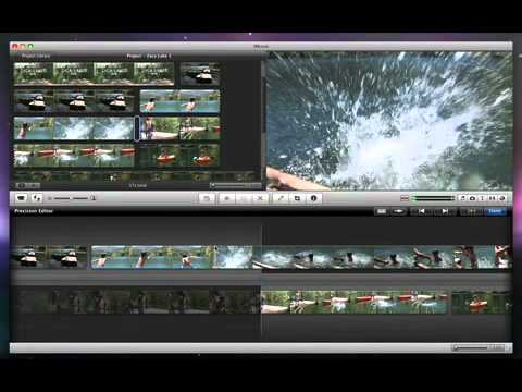Apple - Software - iMovie - Trimming Edits Between Video Clips