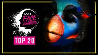 KILLER BIRD • SFX Makeup Tutorial • NYX Face Awards Germany TOP 20 Challenge | #nyxfaceawardsgermany