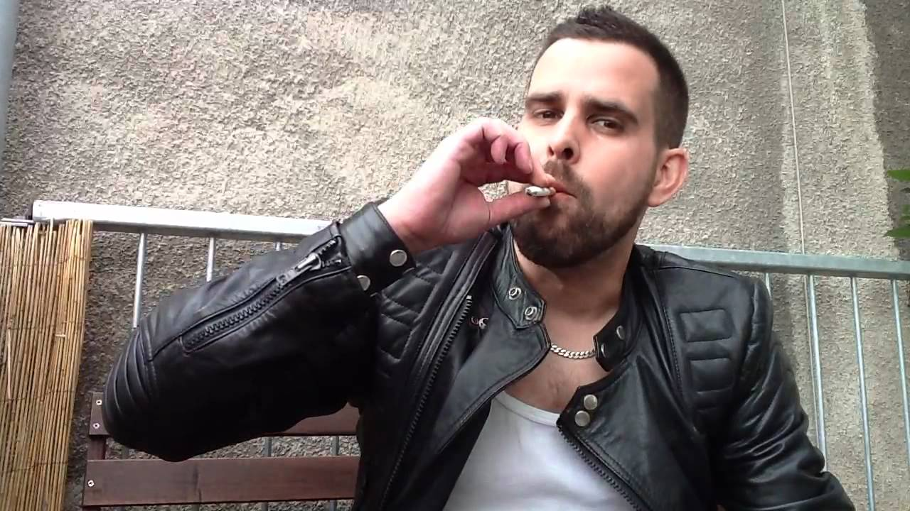 gay smoking playing