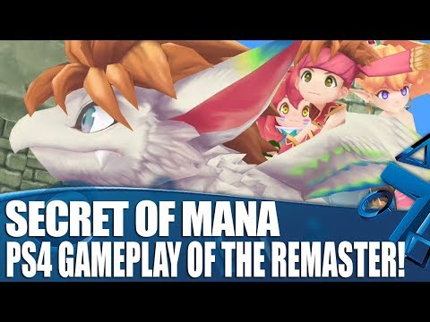 Secret Of Mana PS4 Gameplay - The Remaster Fans Have Been Waiting For