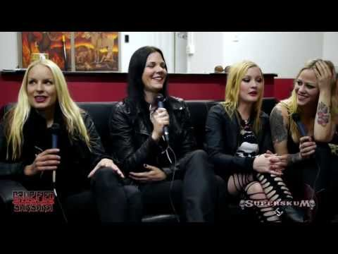 CRUCIFIED BARBARA Interview