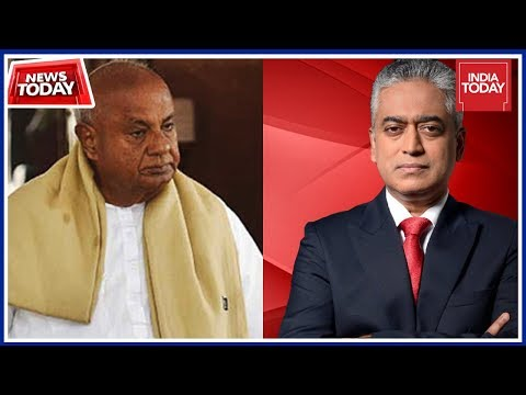 I Am Not Power Hungry : Deve Gowda On Congress-JD(S) Alliance In Karnataka | News Today With Rajdeep