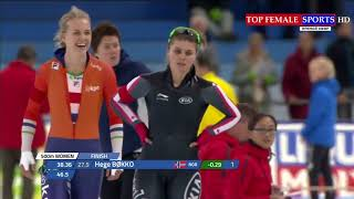 2017 ISU - 500m - World Cup Speed Skating Stage 1 Heerenveen
