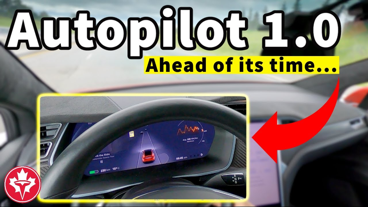 Tesla Model X with Autopilot 1.0 // Mobileye was ahead of its Time!
