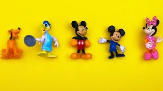 Minnie Mouse & Mickey Unboxing Learn Colors with Minnie Mouse and Mickey Mouse Toys for Children