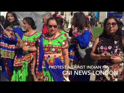Protest against Indian PM Modi in front of Parliament House London:CNI News