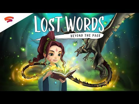 Lost Words: Beyond the Page - Official Trailer | First on Stadia