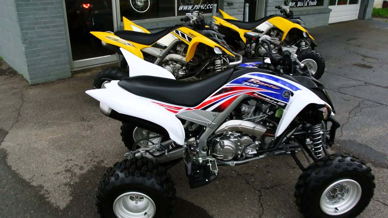 2013 Yamaha Raptor 700 Red White And Blue