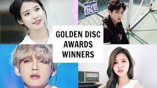 GOLDEN DISC AWARDS 2018 WINNERS | All Winners - Stafaband
