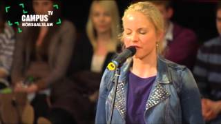 Repeat youtube video 5. Bielefelder Hörsaal-Slam - Julia Engelmann - Campus TV 2013