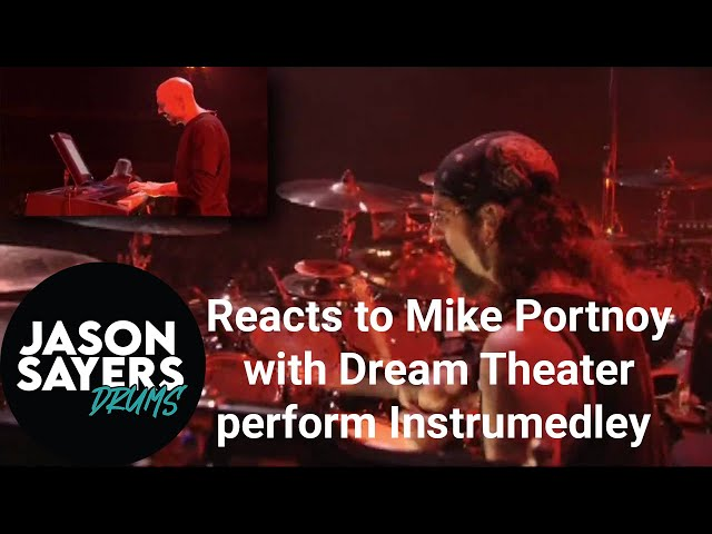Drummer Reacts to Mike Portnoy - Dream Theater - Instrumedley