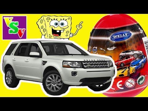 Видео: Surprise Eggs Cars Welly Kinder Toys. BMW. Машинки Велли сюрпризы для детей. Детский канал vsvfamily