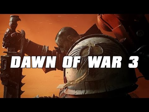 Dawn of War 3 Multiplayer Space Marine Assault 2v2 Gameplay