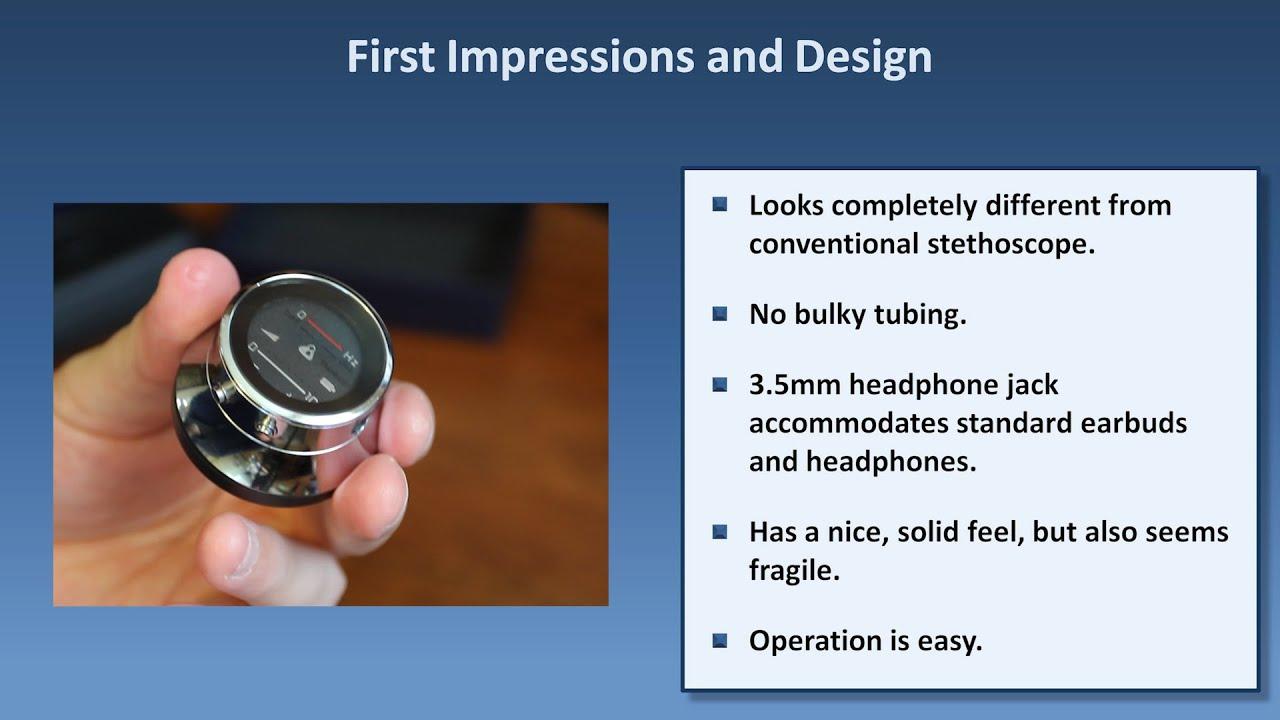 Digital Stethoscope Review - Thinklabs One vs  Littmann 3200