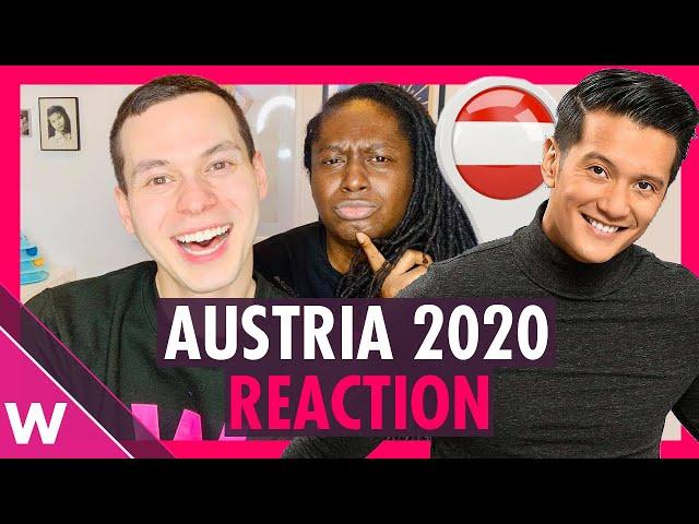 Eurovision Austria 2020 Reaction - Vincent Bueno