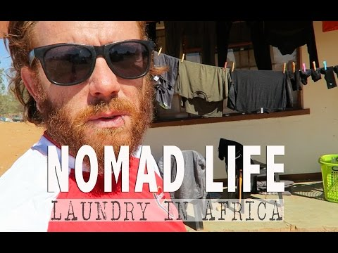 NOMAD LIFE   Doing Laundry in Africa