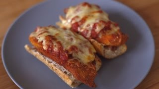 Şinitzel Pizza Tarifi
