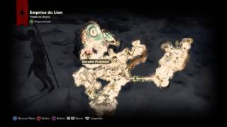 Dragon Age™: Inquisition - Mapa Completo de Emperise du Lion