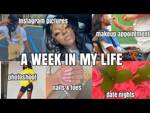 VLOG: A Week In My Life | Photoshoot, Appointments, Date Nights, Instagram Pictures, Shipping Orders