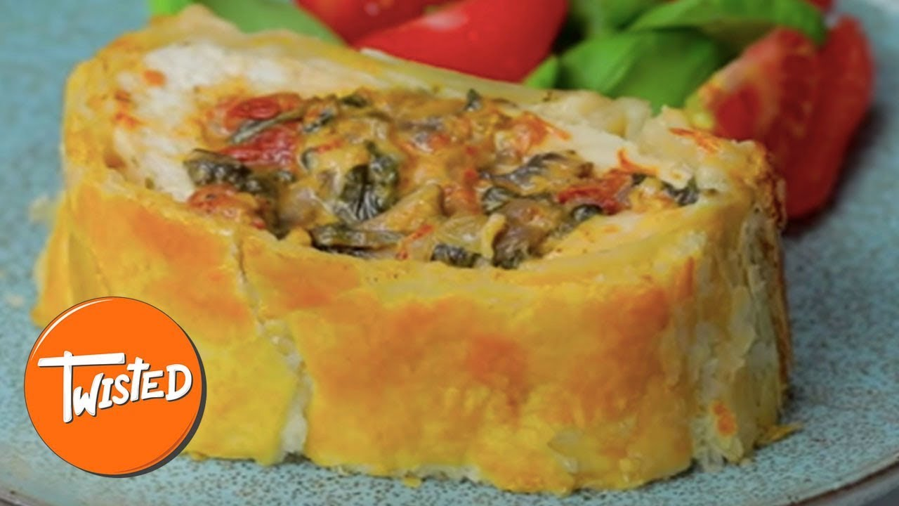 Tuscan Chicken Wellington Recipe | Twisted - YouTube