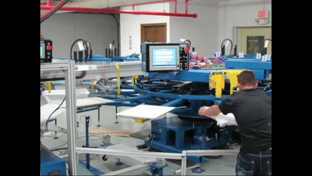 Worlds Fastest T Shirt Screen Printing Machine Gears Up For World