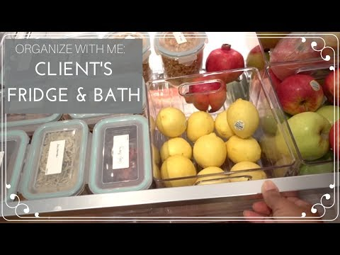 Organizing My Client's Kitchen and Bathroom - The Organizer Diaries - 동영상
