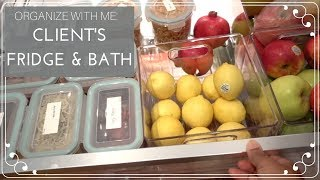 Organizing My Client's Kitchen and Bathroom | The Organizer Diaries