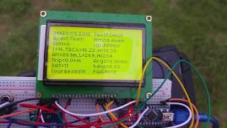 prototyp palubního počítače na Babettu - výčet funkcí