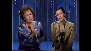 Cher with Jean Stapleton
