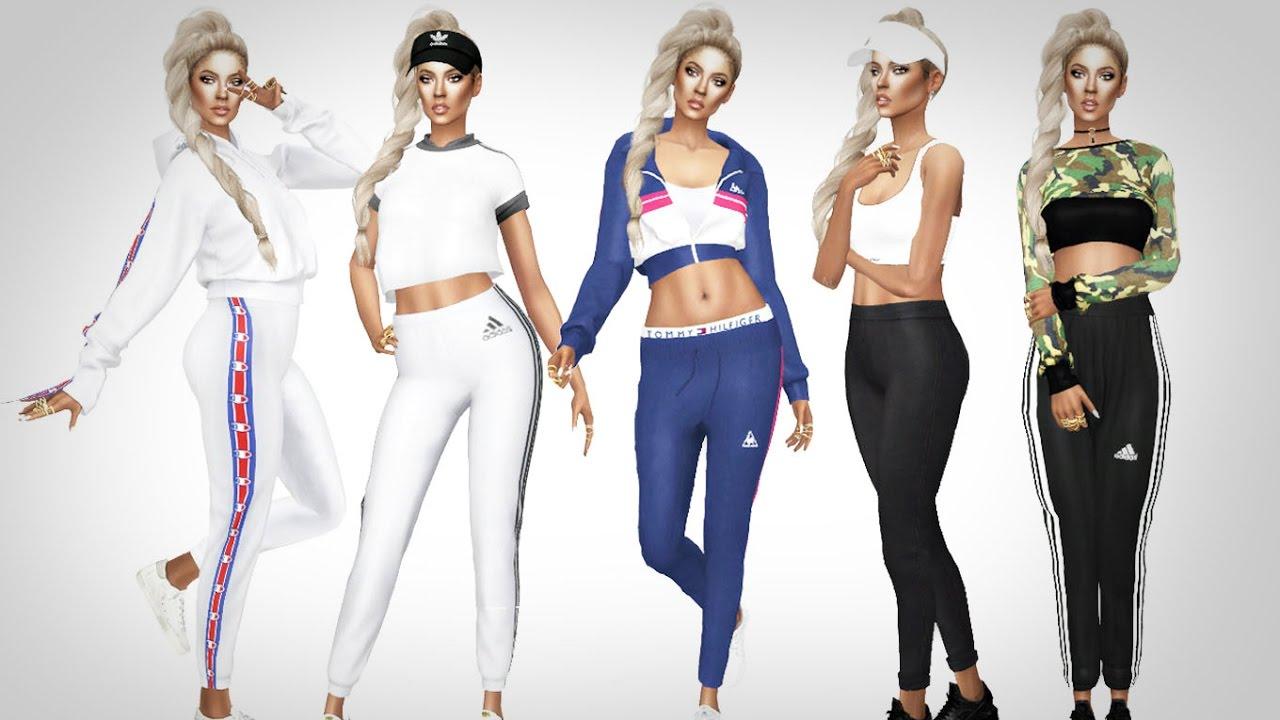 The Sims 4 Sporty Lookbook Cc List Amp Download Sim