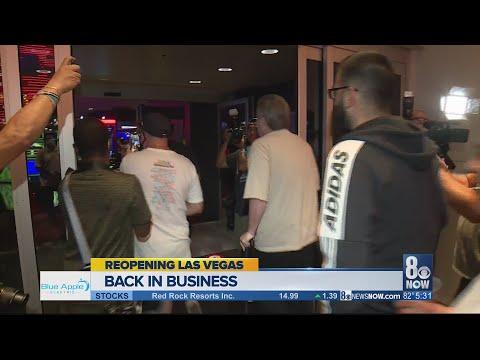 Casinos Across Las Vegas Reopened At Midnight