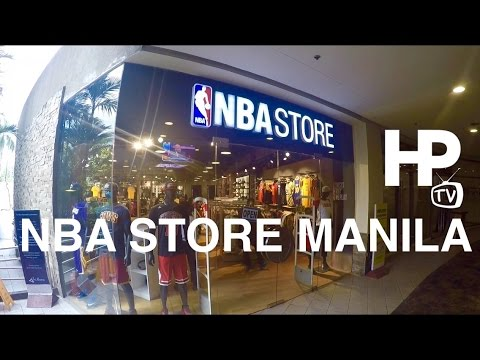 6c8666d7bfd NBA Store Manila Philippines Trinoma Mall Quezon City by HourPhilippines.com