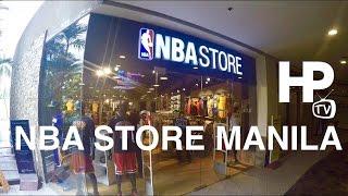 NBA Store Manila Philippines Trinoma Mall Quezon City by HourPhilippines.com