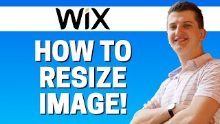 How To Resize Image In WIx 2020
