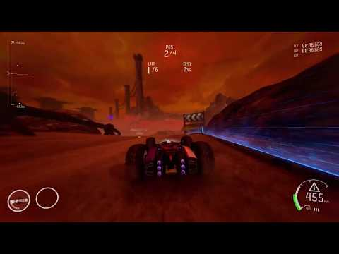 Awesome Outworld Race! (with Rollcage music) - GRIP Combat Racing |