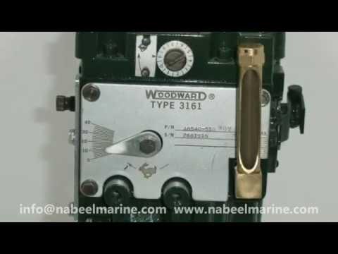 WOODWARD GOVERNOR 3161 - Nabeel Marine Trading LLC