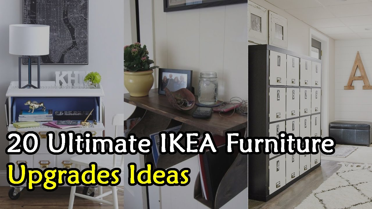 Merveilleux 20 Ultimate IKEA Furniture Upgrade Ideas