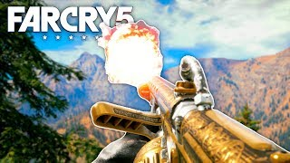 Far Cry 5 - NEW GOLD FLAMETHROWER (Far Cry 5 Free Roam) #17