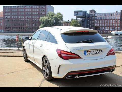 walkaround mercedes benz cla 250 sport shooting brake. Black Bedroom Furniture Sets. Home Design Ideas