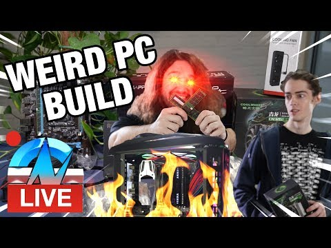 LIVE: Terrible PC Build with Parts from Shenzhen, China