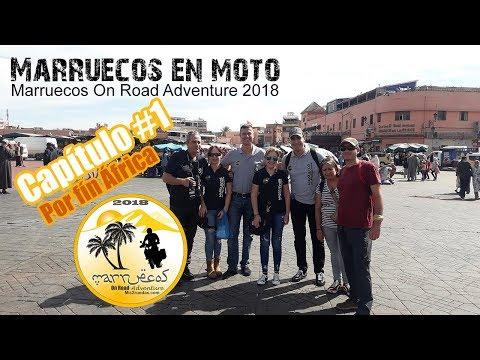 Viaje en moto por el sur de Marruecos – Capítulo 1 – Por fín África