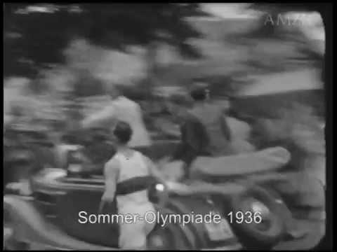 Olympische Spiele 1936 - Berlin - private Schmalfilme - rare film footage - licensing