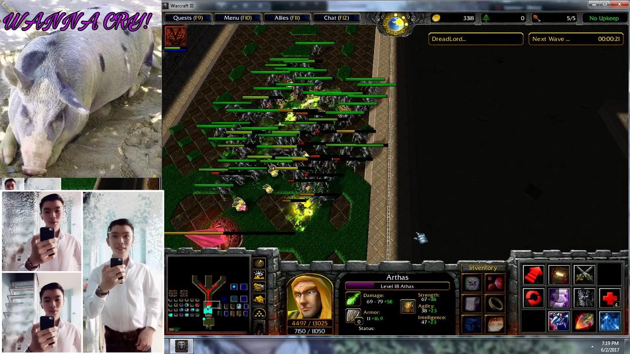 [ Warcraft III ] Darkness Reborn VN : Hero Shadow Vengeance