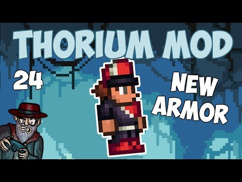 Terraria # 24 MARCHING BAND ARMOR!! - 1.3.5 Thorium Mod Let's Play