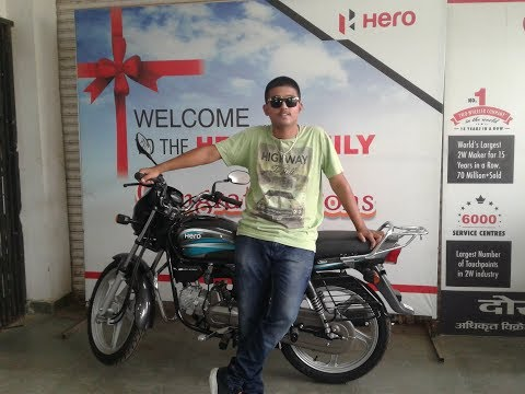 Hero Splendor Plus 2019 IBS / Tubeless Tyre / New Graphics / AHO / best mileage bike in low Price