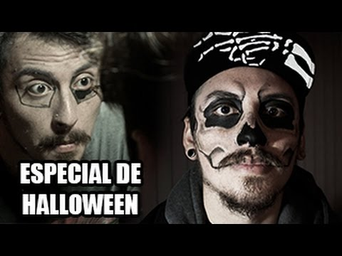 Maquillaje de Halloween en Chilenito TV