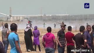 إصابة عدد من الشبان الفلسطينيين خلال مواجهات مع الاحتلال في الضفة وغزة - (12-7-2019)
