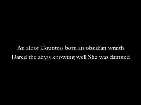 Cradle of Filth - Bathory Aria (lyrics)