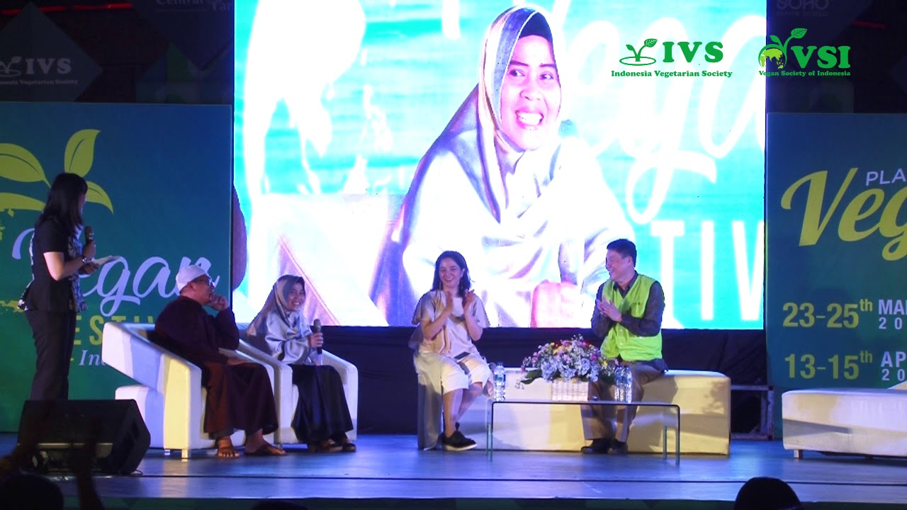 Pengalaman Vegan Ustad Zul Sanim @Vegan Festival Indonesia 2018