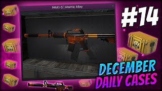 FINALLY SOMETHING REALLY GOOD ★ DECEMBER DAILY CASES DAY 14 - CS:GO CASE OPENING / UNBOXING